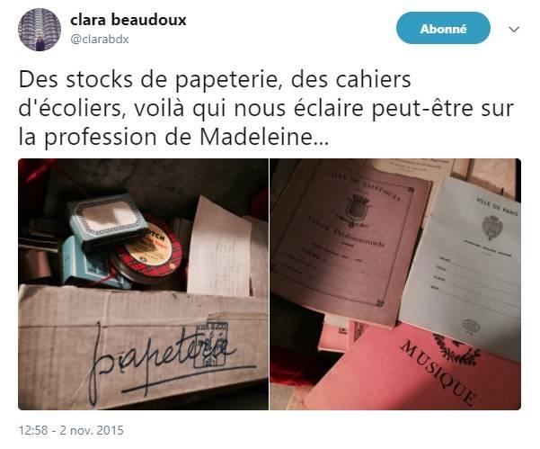 madeleine-project