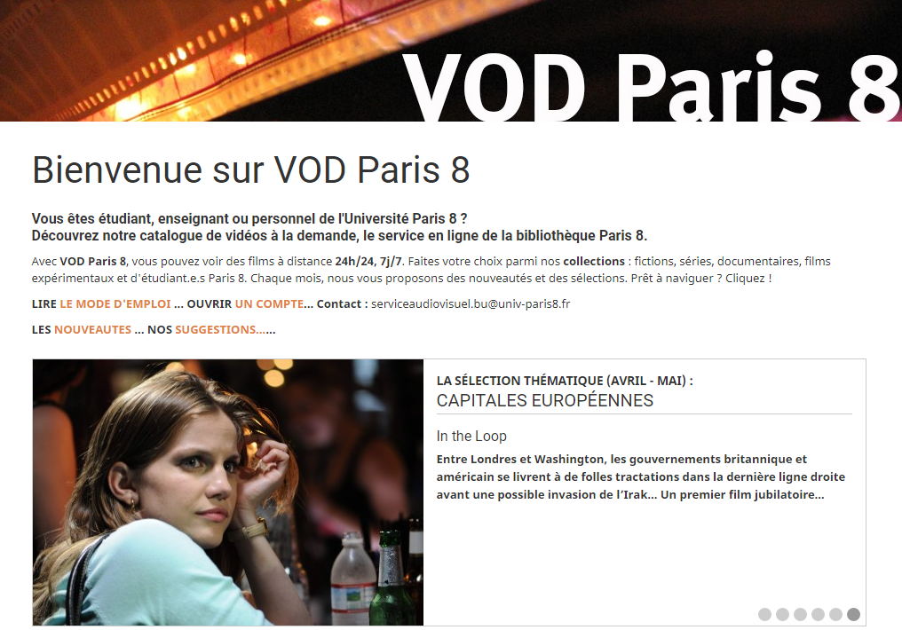 Paris8-VOD