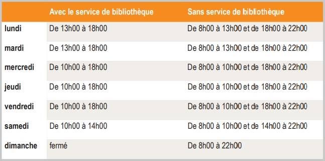 horaire-bibliotheque