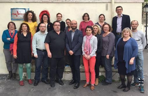 Pierre-Frédéric Brau (au centre) a été élu en mars 2016 nouveau président de l'Association des archivistes français : pas de bouleversement en perspective.