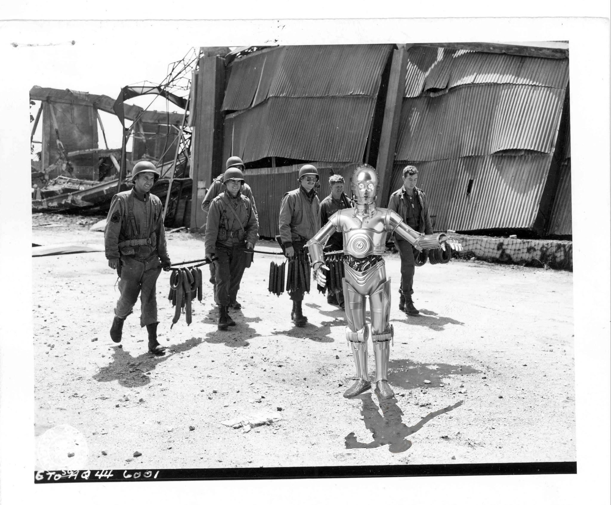 Star Wars S Invite Dans Les Archives Du Debarquement De Normandie Archimag