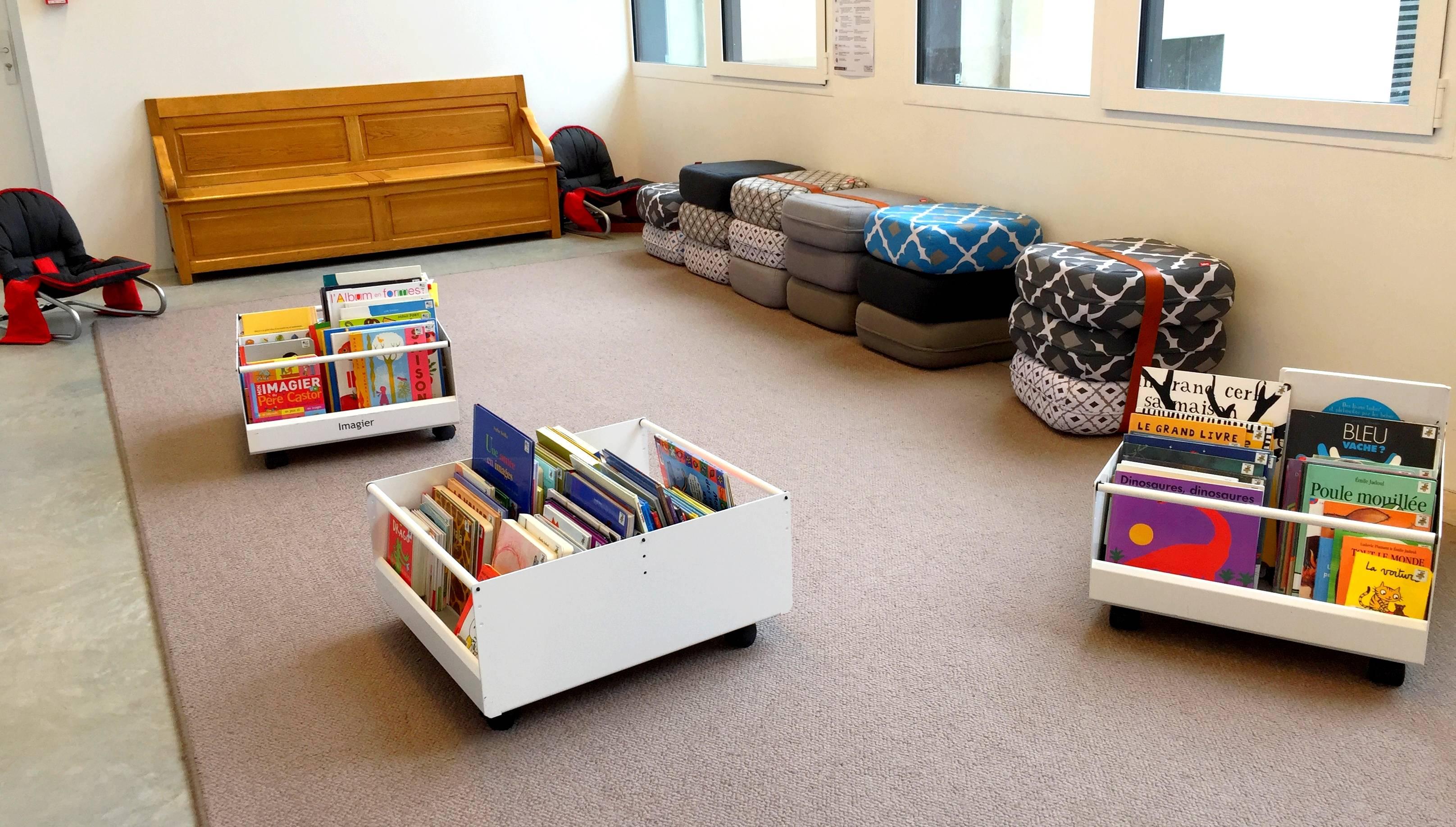 Biblioth Ques Le Mobilier Au Coeur Des Usages Archimag # Meuble Bibliotheques