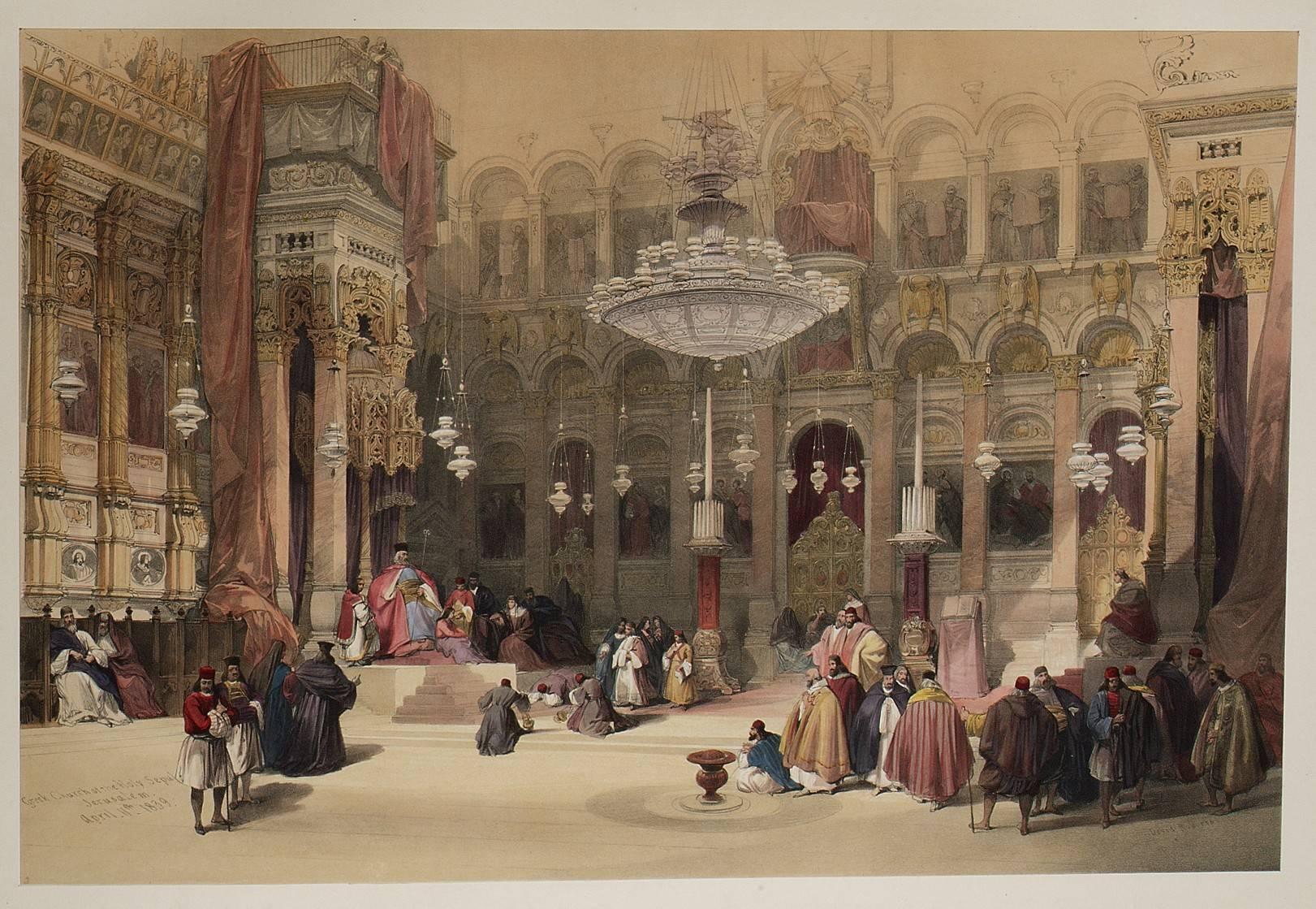 The Holy Land, Syria, Idumea, Arabia, Egypt & Nubia (David Roberts / The MET)