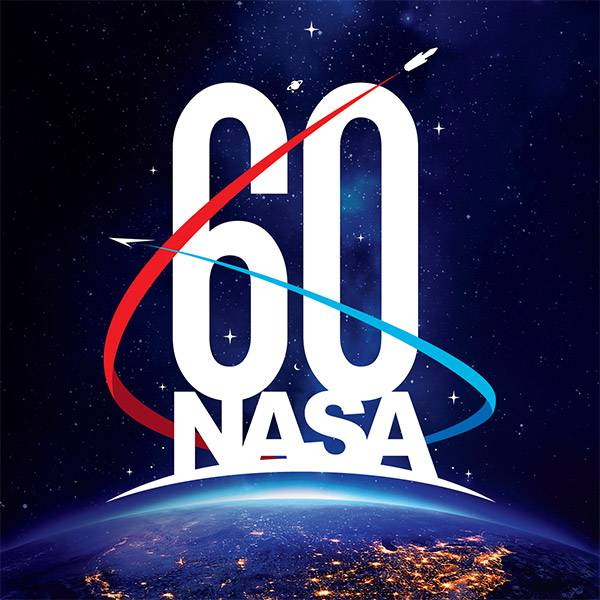 Image De Anniversaire la nasa fête son 60ème anniversaire ! | archimag