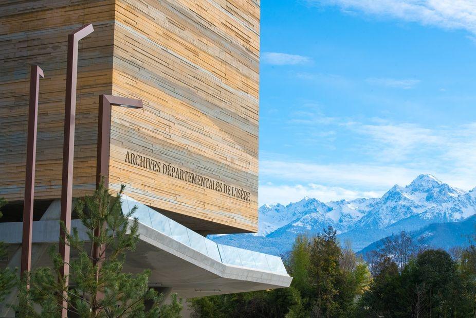 Un nouveau bâtiment pour les archives de l'Isère