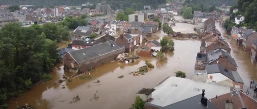 En Belgique, les archives paient un lourd tribut aux inondations