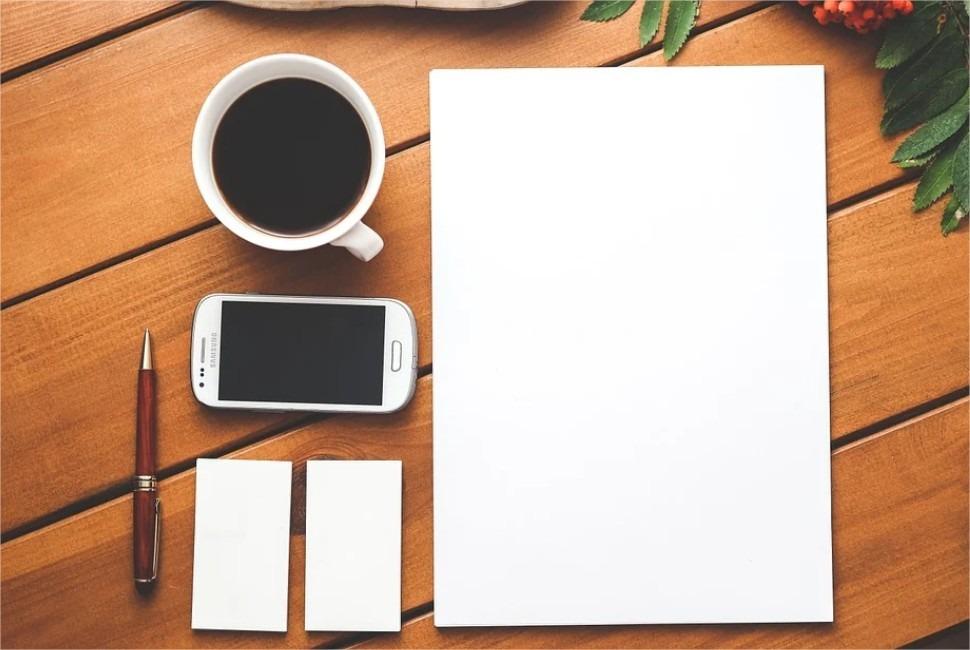 café-téléphoner-papier