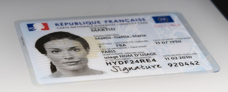 La nouvelle carte d'identité est désormais disponible dans toute la France