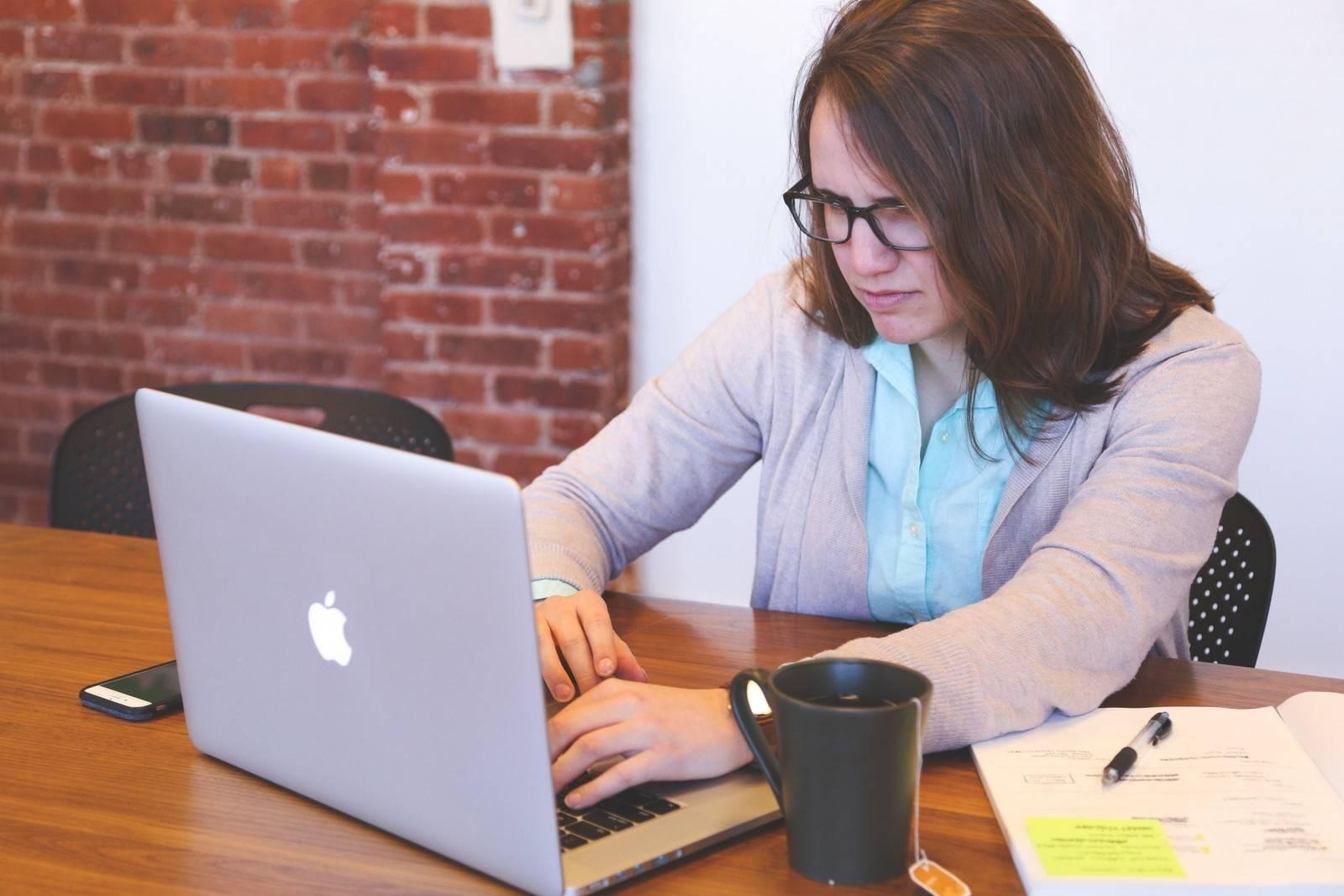 ordinateur-femme