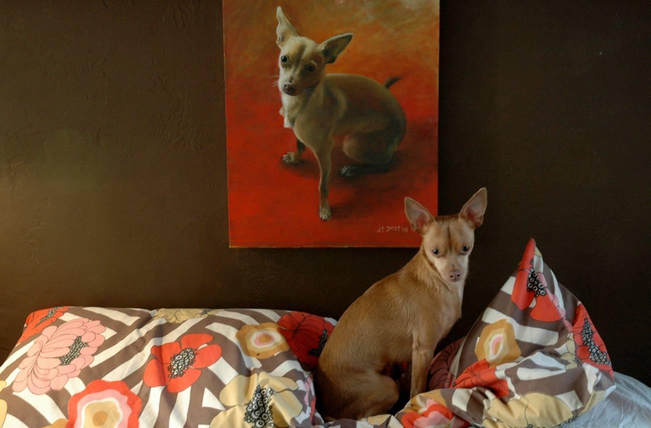 chien-peinture