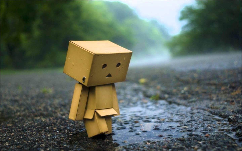 Un robot semble triste