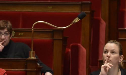 Axelle Lemaire à l'Assemblée nationale