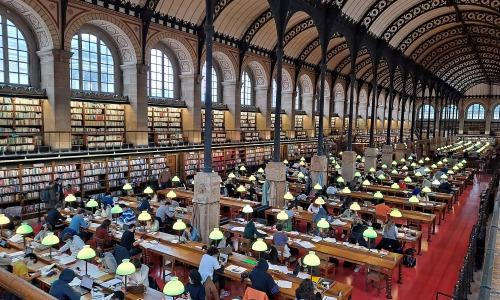 La Bibliothèque Sainte-Geneviève lance sa bibliothèque numérique