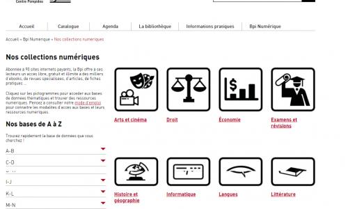 Bpi Numérique, le nouveau portail dédié aux ressources numériques de la Bpi