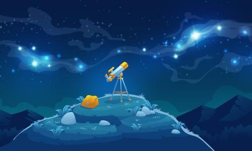 Espace téléscope