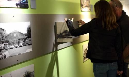 Inauguration d'une exposition consacrée à la Première Guerre mondiale aux archives départementales de Seine-Maritime. (AD 76)