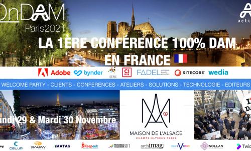OnDAM Paris 2021 !