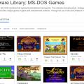 MS-DOS-JeuxVidéos-Rétro-InternetArchives