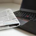 La presse se lit désormais presqu'autant au format numérique que sur papier