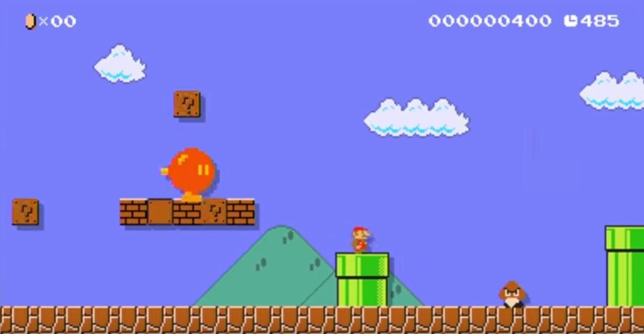 Nintendo publie une vid o d 39 archive rarissime sur youtube pour les 30 ans de super mario bros - Image mario a imprimer ...